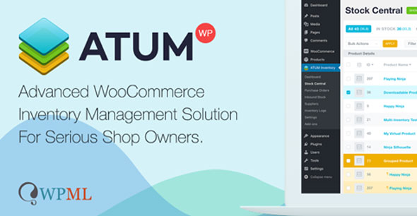 Download ATUM v1.6.5 - Inventory Management for WooCommerce + Premium Add-Ons Free / Nulled