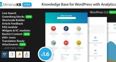 Download MinervaKB v1.6.5 - Knowledge Base for Wordpress with Analytics Free / Nulled