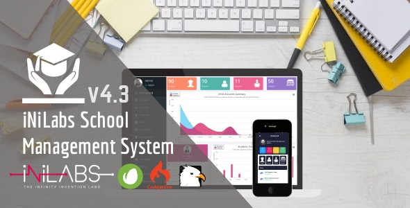 Download Inilabs School Express v4.3 - School Management System Free / Nulled