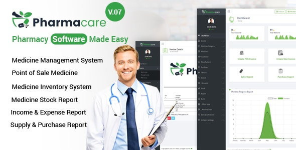 Download Pharmacare v9.0 - Pharmacy Software Made Easy Free / Nulled