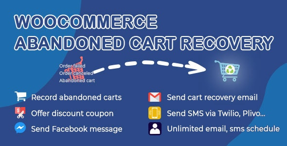 Download WooCommerce Abandoned Cart Recovery v1.0.5.1 Free / Nulled