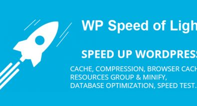 Download WP Speed of Light v2.6.0 - Speed Up WordPress Pro Free / Nulled