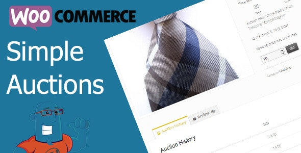 Download WooCommerce Simple Auctions v1.2.35 - Wordpress Auctions Free / Nulled