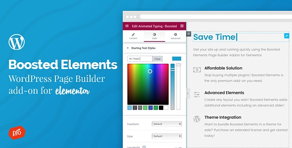 Download Boosted Elements v2.9 - Builder Add-on for Elementor Free / Nulled