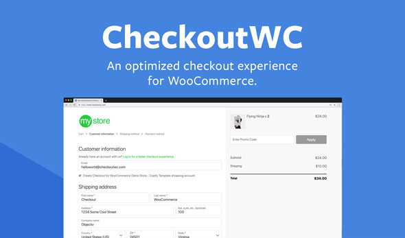 Download CheckoutWC v2.40.1 - Optimized Checkout Page for WooCommerce Free / Nulled