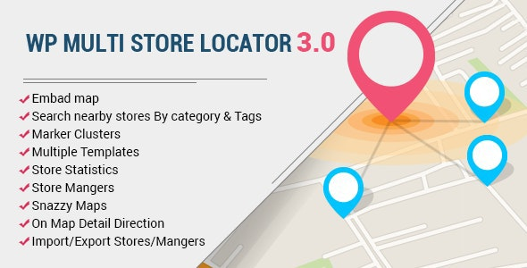 Download WP Multi Store Locator Pro v3.5.0 Free / Nulled