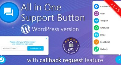 Download Contact us all-in-one button with callback v1.7.5 Free / Nulled