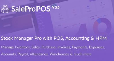 Download SalePro v3.0 - Inventory Management System with POS, HRM, Accounting Free / Nulled