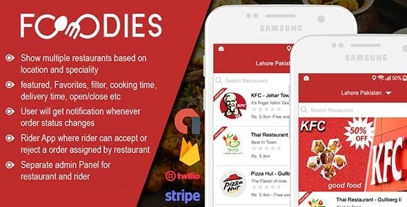 Download Native Restaurant Food Delivery & Ordering System With Delivery Boy v2.0.5 - Andorid Free / Nulled
