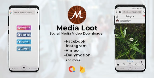 Download Media Loot v1.0 - The Ultimate Social Media Downloader Free / Nulled