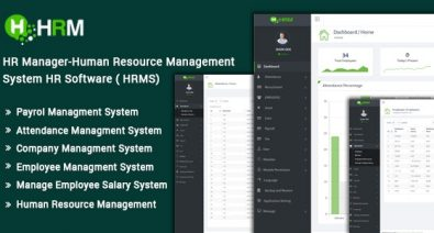 Download HR Manager v3.0 - Human Resource Management System HR Software (HRMS) - nulled Free / Nulled