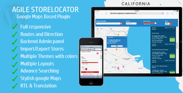 Download Store Locator (Google Maps)  v4.6.3 - For WordPress Free / Nulled