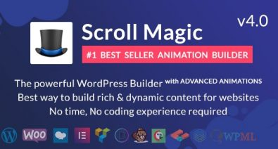 Download Scroll Magic v4.0 - Scrolling Animation Builder Plugin Free / Nulled