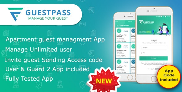Download GuestPass v1.0 - Apartment Guest Managment App Free / Nulled