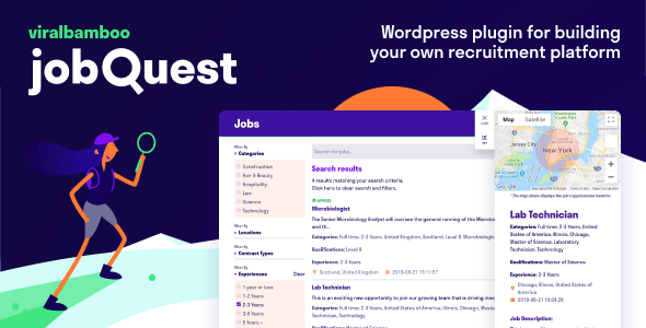 Download jobQuest v1.0.0 - WP Job Recruitment Board Free / Nulled