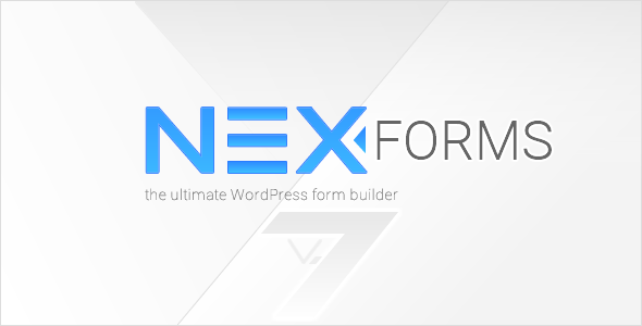 Download NEX-Forms v7.5.12 - The Ultimate WordPress Form Builder Free / Nulled