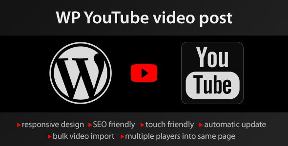 Download YouTube WordPress plugin  v1.4.10 - video import Free / Nulled