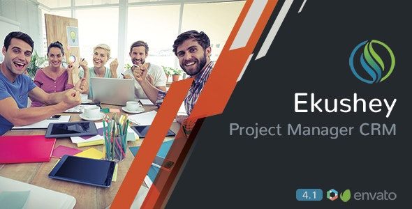 Download Ekushey v4.3 - Project Manager CRM - nulled Free / Nulled