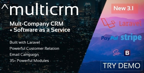 Download Multicrm v3.1.5 - Multipurpose Powerful Open Source CRM Free / Nulled