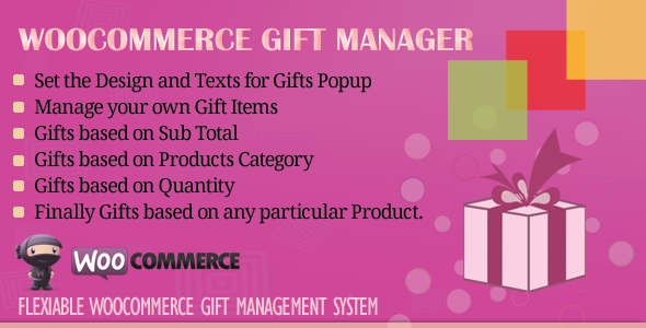 Download WooCommerce Gift Manager v2.5 - WooCommerce Plugin Free / Nulled