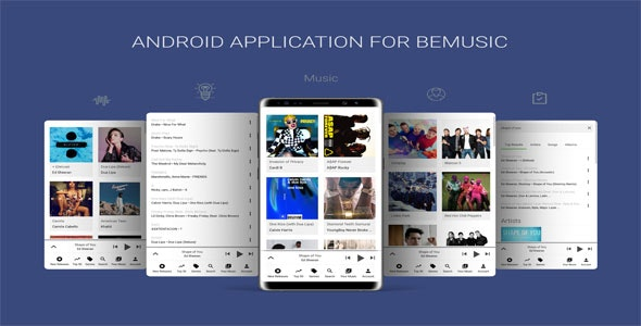 Download Android Application v6.0 - For BeMusic Free / Nulled