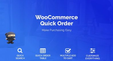 Download WooCommerce Quick Order v1.3.3 - ECommerce Plugin Free / Nulled
