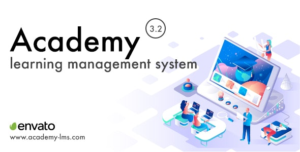 Download Academy Learning Management System v3.2 - nulled Free / Nulled