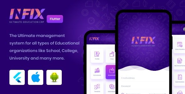 Download InfixEdu v1.0.3 - Open Source Flutter for Android & iOS Free / Nulled