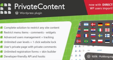 Download PrivateContent v7.23 - Multilevel Content Plugin Free / Nulled