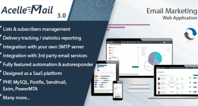 Download Acelle Email Marketing Web Application v4.0.18 - - nulled Free / Nulled