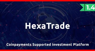 Download HeXaTrade v1.4 - Coinpayments Support Investment Platform - nulled Free / Nulled