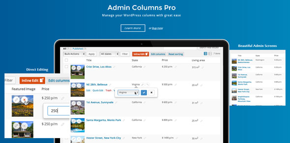 Download Admin Columns Pro v5.0.3 + Addons Free / Nulled