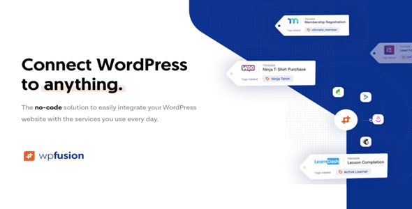 Download WP Fusion v3.30.1 - Connect WordPress to anything Free / Nulled