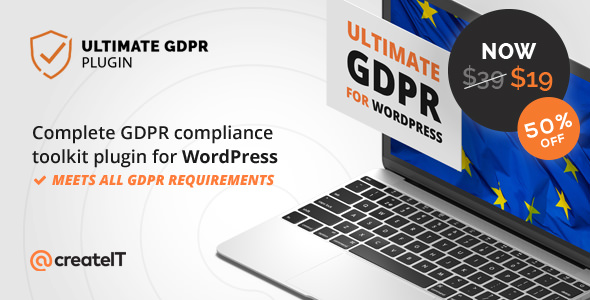 Download Ultimate GDPR  v1.7.4 - Compliance Toolkit for WordPress Free / Nulled