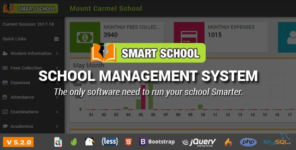 Download Smart School v5.2.0 - School Management System - nulled Free / Nulled