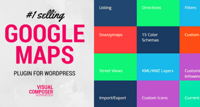Download Advanced Google Maps v5.2.1 - Plugin for Wordpress Free / Nulled