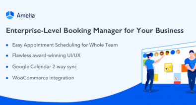 Download Amelia v2.5 - Enterprise-Level Appointment Booking Free / Nulled