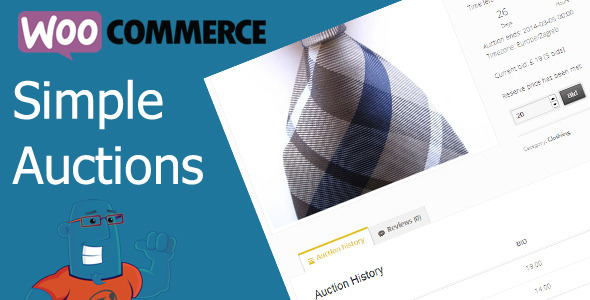 Download WooCommerce Simple Auctions v1.2.37 - Wordpress Auctions Free / Nulled