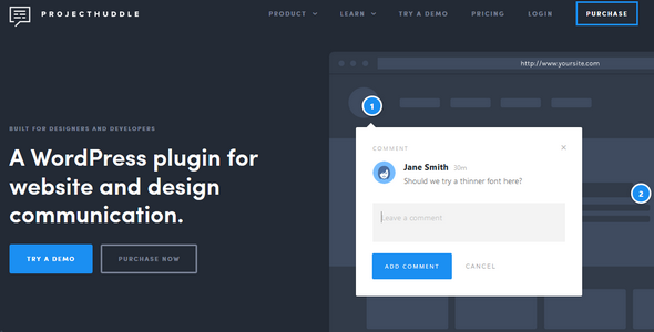 Download ProjectHuddle v3.9.5 - Organized Client Feedback Free / Nulled