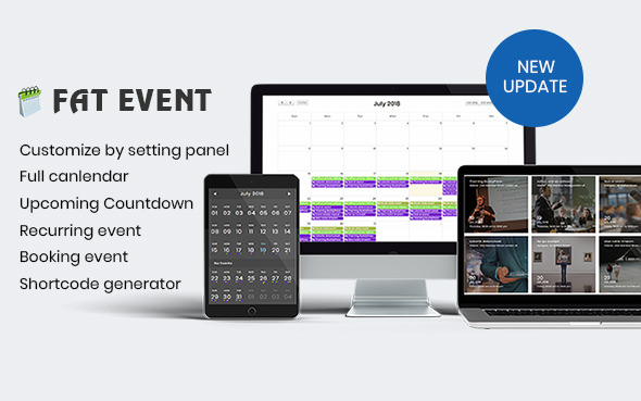 Download FAT Event v3.11 - WordPress Event and Calendar Booking Free / Nulled