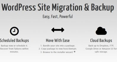 Download Duplicator Pro v3.8.8 - WordPress Site Migration & BackUp Free / Nulled