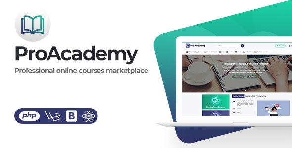 Download Proacademy  v1.3 - LMS & Online Courses Marketplace Free / Nulled