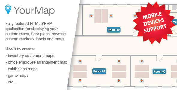Download YourMap v1.12.2 - customizable maps with back-end panel Free / Nulled