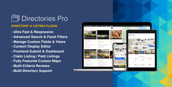 Download Directories Pro plugin v1.3.5 - for WordPress Free / Nulled