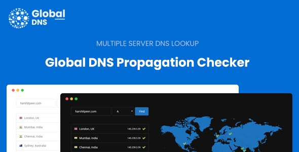 Download Global DNS v1.0 - Multiple Server - DNS Propagation Checker Free / Nulled