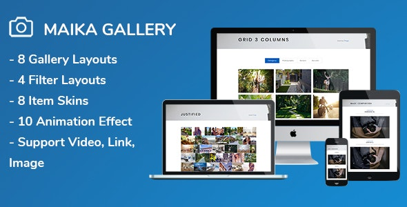 Download Maika v1.15 - Gallery Plugin for Wordpress Free / Nulled