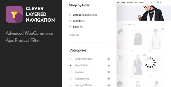 Download Clever Layered Navigation v1.3.8 - WooCommerce Ajax Product Filter Free / Nulled