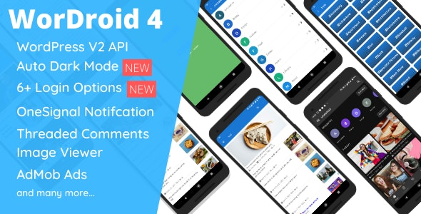 Download WorDroid v4.1 - Full Native WordPress Blog App Free / Nulled