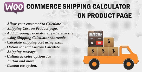 Download Woocommerce Shipping Calculator v2.0 - On Product Page Free / Nulled