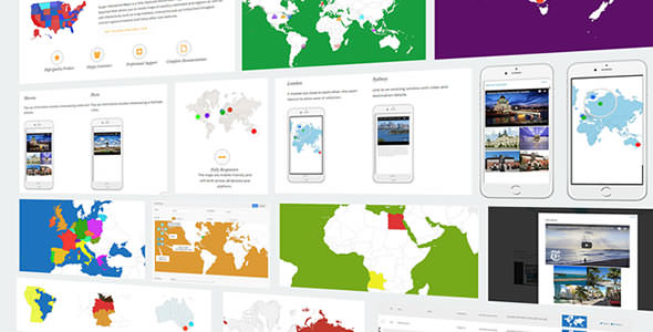 Download Super Interactive Maps v1.8 - for Wordpress Free / Nulled